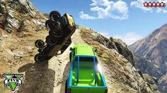 GTA 5 OFF-ROADING & ROCK CRAWLING! - CUSTOM 4X4 Trucks GTA 5 - Grand Theft Auto 5 Funny Moments