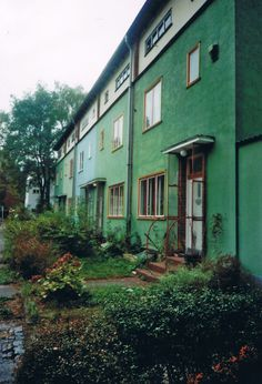 Siedlung Onkel Toms Hütte, Bruno Taut, Berlin, 1926-1932.