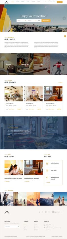 Most charming, luxurious and powerful #WordPress template for #hotels, hostel, #resort, vacation room/apartment rental or Bed and Breakfasts services websites download now➩ https://themeforest.net/item/travel-booking-hotel-wordpress-theme-hotel-wp/18828322?ref=Datasata