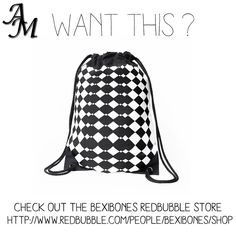 #shopnow #bexibones #online #redbubblestore #womenswear #fashionblogger #aml #designer #fashionlover #fashiontrends #fashiongram #fashiondaily #musthave #shop #shoppers #followers #instadaily #instafashion #fashioninfluencer #bags #drawstringbag