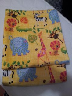 It's a Jungle out their Burp Cloths by Sundayranchsewing on Etsy