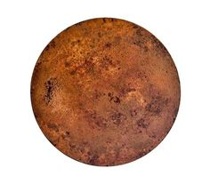 Round Fire Copper Table Tops