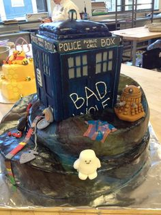 crafty_tardis: Doctor Who cake