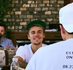 August 4: Another photo of Justin in Los Angeles, California.