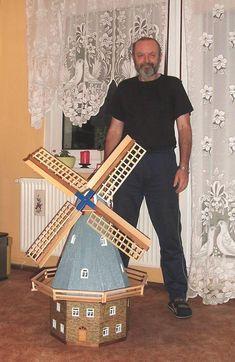 Galerie-Windmühle für den Garten (Bauanleitung) Bauanleitung...