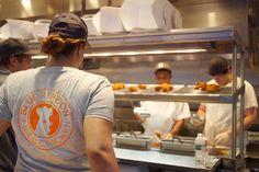 Branding for Blue Ribbon Fried Chicken, NYC's most delicious fried chicken. Blue Ribbon, Fried Chicken, Fries, Captain Hat, Nyc, Baked Fried Chicken, New York