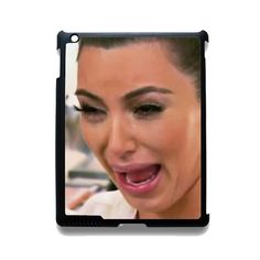 Kim Kardashian Cry Ugly Face master Apple Phonecase For Ipad 2 Ipad 3 Ipad 4 Ipad Mini 2 Ipad Mini 3 Ipad Mini 4 Ipad Air 2 Ipad Air