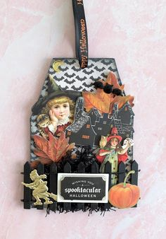Fan Mail Friday - Halloween tag by Nancy Anna Griffin Inc, Anna Griffin Cards, Halloween Tags, Happy Halloween, Spooky House, Easel Cards, Hallows Eve, Favorite Holiday, Happy Friday
