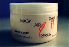Mask hair - Sleek Line | Babski-kuferek