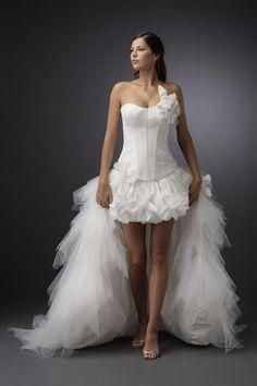 47a51261e9 Igen Szalon Modeca wedding dress -M 97065A #igenszalon #Modeca  #weddingdress #bridalgown. Esküvői RuhákAlkalmi ...