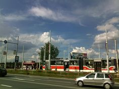 New tram. The old ones are better.