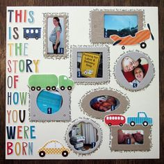 THIS+IS+THE+STORY+OF+HOW+YOU+WERE+BORN+by+PaigeTaylorEvans+@2peasinabucket