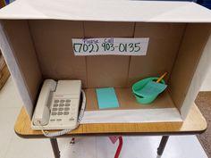 Make a call and take a message.
