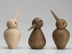 "Beautiful ""Birds"" by Kristian Vedel Scandinavian toys Wood Turning Lathe, Wood Turning Projects, Wood Lathe, Learn Woodworking, Woodworking Projects, Scandinavian Toys, Objet Deco Design, Danish Furniture, Small Pen"