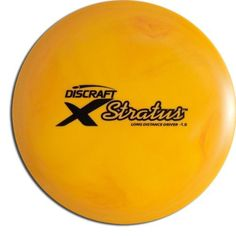 Discraft Stratus Elite X Golf Disc, 164-166 grams by Discraft. $8.79. A legendary driver that players come back for again and again. In the mid-90s, the Cyclone ruled the tee, and ushered in the era of golf drivers made from high-tech engineered polymers. It's easy to control whether you're going straight, hyzer or anhyzer. A disc golf standard.