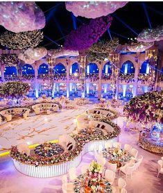 "6,128 Likes, 44 Comments - Lebanese Weddings (@lebaneseweddings) on Instagram: ""Talk about a heart-stopping wedding decor  ! __________________ ▪Wedding planner…"""