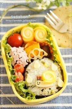 「ハロウィンのお弁当(キャラ弁)」の画像|ずぼらな主婦キャラ弁にはまるっ!!の巻 |Ameba (アメーバ)