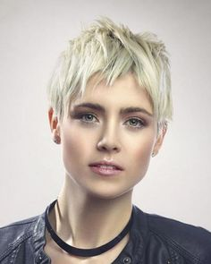 short hairstyles - Anouk Smulders short blonde hairstyle ...