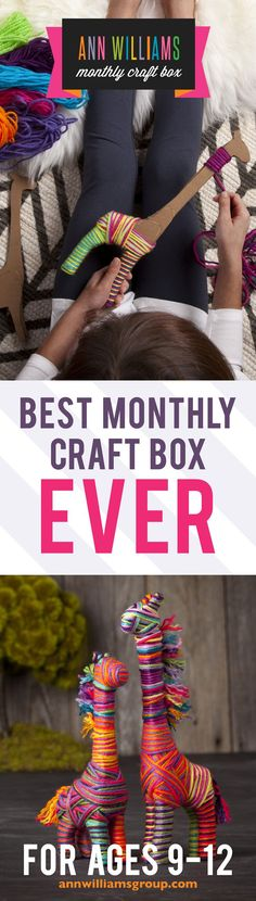 A monthly plan is a great way to go. When you select it: - • your child gets an OMG surprise within 1-2 weeks. Once they receive their first craft box, they'll be so happy and so excited about the nex