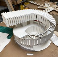 Amazing architecture model of 's Hainan Project! Post by: . * Turn ON Post Notifications to see new… Architecture Paramétrique, Tectonic Architecture, Maquette Architecture, Architecture Model Making, Cultural Architecture, Organic Architecture, Futuristic Architecture, Amazing Architecture, Education Architecture