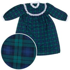 Blackwatch Classic Christmas Nightgown for Toddlers and Girls 397088f5f