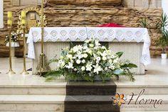 dekoracja kwiatowa kościoła - Szukaj w Google
