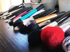 Hoe maak je make-up kwasten schoon stap 5