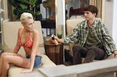 I don't watch Two and a half men 'course Charly Sheen was the best for me in this show. But I want to see the beautiful Miley Cyrus. so she will be there tonight.