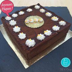 Ma tarte chocolat passion : un délice pour Pâques !  La recette détaillée est là: http://bit.ly/1TJsyeN