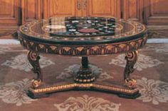 1000 images about large round coffee table on pinterest round coffee tables coffee tables. Black Bedroom Furniture Sets. Home Design Ideas
