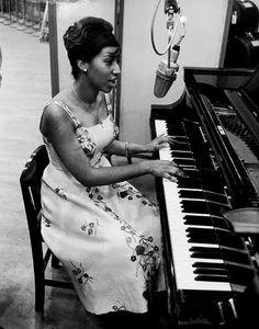 Aretha Franklin, 1960.
