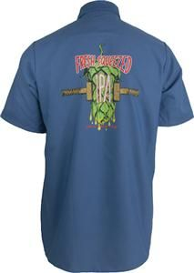 Fresh Squeezed IPA Work Shirt. You know you want one. $35