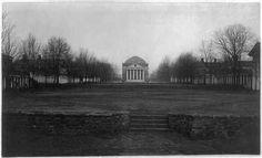 University-of-Virginia-Charlottesville-Virginia-VA-Before-the-fire-1898