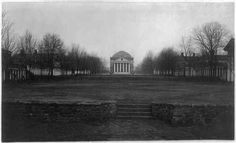 University-of-Virginia-Charlottesville-Virginia-VA-Before-the-fire-1898