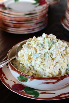 Mom's Vintage Potato Salad ~ The Recipe We All Know and Love to Pieces #Memories #PotatoSalad