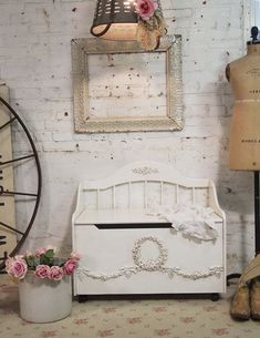 Would love this for C....Painted Cottage Shabby TeaStain Romantic Hope by paintedcottages, $325.00