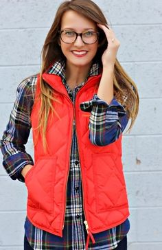 Cute+fashion+for+fall%2C+flannel+and+quilted+vest.jpg (641×990)