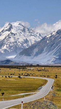 Mount Cook, South Island, New Zealand // i miss driving these roads, and the beautiful views! Places Around The World, The Places Youll Go, Places To See, Around The Worlds, Mount Cook New Zealand, New Zealand South Island, Beautiful World, Beautiful Places, New Zealand Landscape