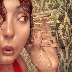 """Откровение # 1  - Холст, масло Даниэль Galieote - Лос-Анджелес, Калифорния"