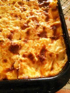 H μάνα του ... λόχου: Τηγανιά κοτόπουλου με πατάτες και μπεσαμέλ