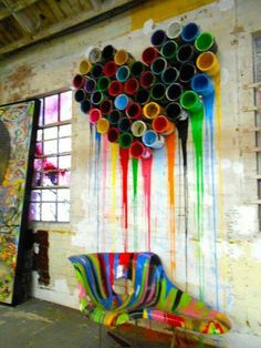 Paint cans - new mural idea                              …