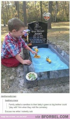 This brought me to tears, but it is such a good idea for little kids