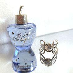 Lolita Lempicka Miniature Perfume & Swarovski Crystal Ring  Gift Set .17ozs./5ml #LolitaLempicka