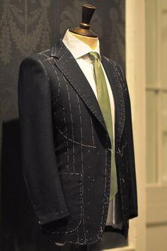 bespoke suit from Savile Row