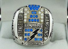 2004 Tampa Bay Lightning Stanley Cup Championship Ring Free shipping!!!