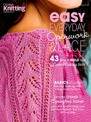 Easy, Everyday Openwork & Lace - new publication - available to order or download on Annies.  Will have to check this out as I love knitting lace for spring & summer.