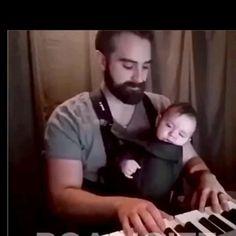 Cute Funny Baby Videos, Cute Funny Babies, Cute Funny Animals, Cute Baby Animals, Funny Cute, Funny Kids, Cute Little Baby, Little Babies, Funny Photos