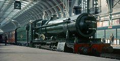 BR (GWR)  Grange class 4-6-0 No  6841 'Marlas Grange' Steam Railway, Train Stations, British Rail, Great Western, Train Car, Steam Engine, Steam Locomotive, 1950s, Cathedral
