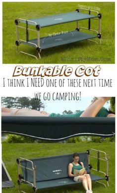 Hordozható emeletes ágyak, Camping hacks, amely megváltoztatja az életed, Bunkable cot tökéletes élet vagy kemping kis terek