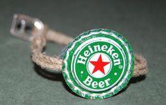 recycled bottlecap bracelet